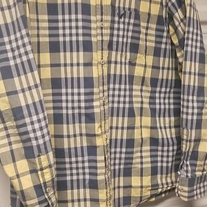 American Eagle men's button-down shirt long sleeve